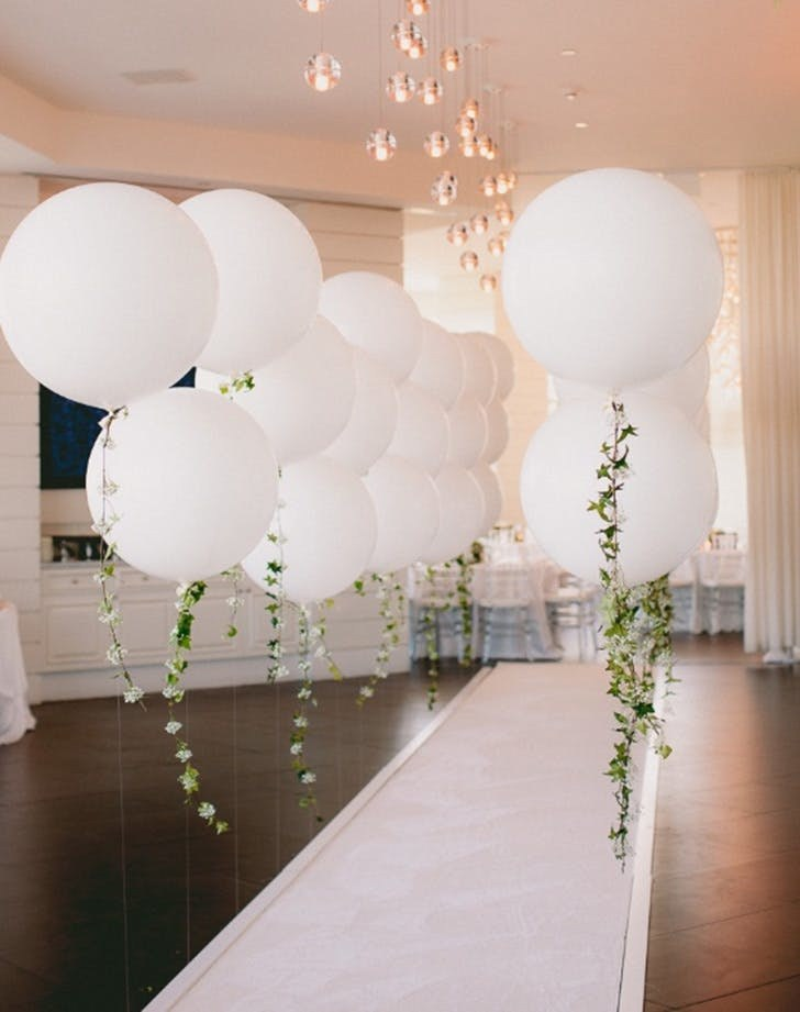 Balloon decor for your wedding party bali happy wedding planner wedding decoration junglespirit Images